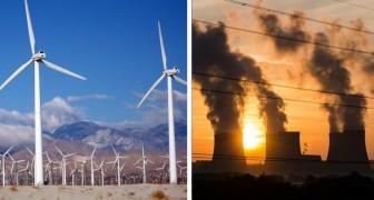 Per la prima volta in Europa, l'energia pulita ha superato quella prodotta dagli impianti a carbone e a gas