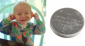 A child has seen his life changed by a simple battery and now his parents want to sound an alarm