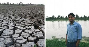 Der 26-jährige junge Mann erweckt die entwässerten und in Deponien verwandelten Seen Indiens wieder zum Leben