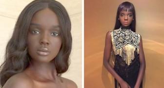 Ze noemen haar de Black Barbie: de schoonheid van dit Australische model zal je de adem benemen