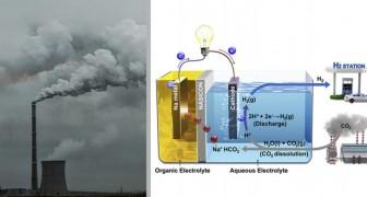 Le tournant de la batterie liquide, qui produit de l'électricité et de l'hydrogène à partir du CO2 présent dans l'air