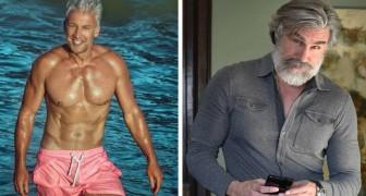 20 prachtige mannen die samen met hun leeftijd een ongelooflijke charme hebben verworven