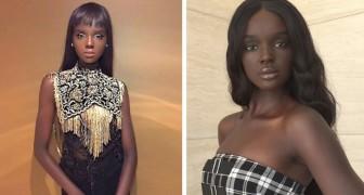 Tutti la chiamano la Barbie nera: la bellezza di questa modella australiana è fuori dal comune