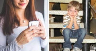 Votre dépendance au téléphone fait du tort à votre enfant