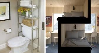 20 ingegnose idee di design per ricavare spazio extra dove sembrava impossibile