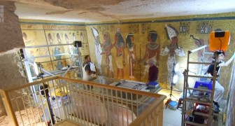 È terminato il restauro della tomba di Tutankamon: ecco le foto che mostrano l'antico splendore ritrovato