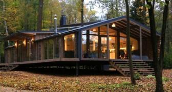 Questa meravigliosa casa prefabbricata si costruisce in 10 giorni e costa solo 80.000 dollari