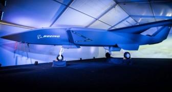 Boeing enthüllt der Welt sein neues unbemanntes Kampfflugzeug