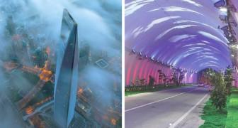 10 riesige chinesische Infrastrukturen, die einen Platz unter den Weltrekorden errungen haben