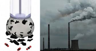 Per la prima volta gli scienziati riescono a trasformare l'anidride carbonica in carbone