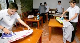 Une école supérieure a créé l'heure de compétences domestiques : les jeunes apprennent à repasser, laver et cuisiner