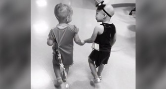 They became friends in the hospital and 4 years later they met again for a moving photo shoot!