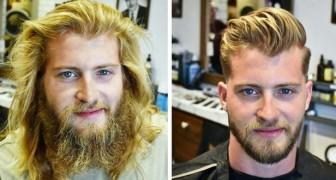 21 Beweise dafür, wie eine andere Frisur das Aussehen eines Mannes radikal verändern kann