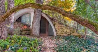 Dieses im Boden versteckte Hobbit-Haus ist ein Traum, der wahr wird: Die Innenräume sind fabelhaft