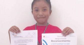 Op slechts 8-jarige leeftijd tijd vond ze een manier om de inwoners van haar dorp warm water te geven, zonder bomen te kappen