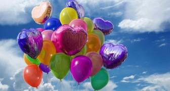 È ora di dire basta ai palloncini di plastica: liberarli in aria è prendersi gioco della natura
