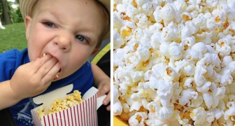 Ciò che ha passato questo bimbo ci rende chiaro il motivo per cui i pop corn non devono essere dati ai più piccoli