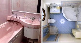 13 Ideen für die Organisation eines kleinen Badezimmers, um das Beste aus dem Raum herauszuholen
