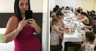 Diese Frau war insgesamt über 15 Jahre lang schwanger: Sie hat gerade ihre 21. Tochter zur Welt gebracht