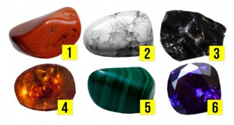 Choose the gemstone that attracts you the most and it will reveal your most hidden desires