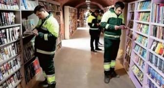 Ces éboueurs ont créé une merveilleuse bibliothèque avec des livres que les gens avaient jetés