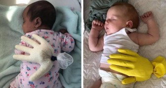Een moeder had een geweldig idee om haar dochter te laten slapen tijdens haar afwezigheid... en nu doen duizenden moeders haar na!