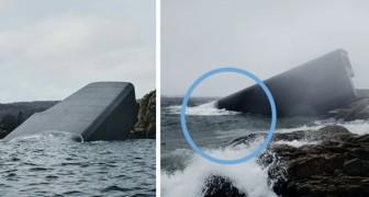 In Noorwegen is het eerste onderwaterrestaurant in Europa voltooid... het lijkt of je je in een andere wereld bevindt