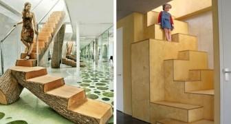 25 Treppen im extremen Design, die im Alltag selten zu sehen sind