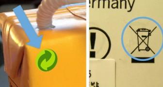 6 simboli del riciclo che hai visto ovunque ma di cui forse ignori il significato: li conosci tutti?