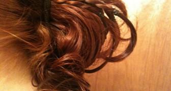 Una bambina di Bologna di 8 anni ha chiesto alla mamma di donare i capelli rossi ai malati di cancro