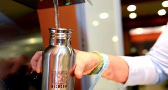 Lotta all'inquinamento ambientale: stop alle bottiglie di plastica nelle università italiane