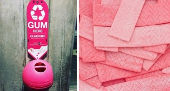 Una startup ha trovato il modo di riciclare i chewing gum: ecco come li riutilizza
