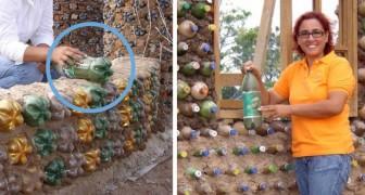 Eine ehemalige Anwältin baut Häuser mit Plastikflaschen für Menschen, die sich keine Ziegelsteine leisten können
