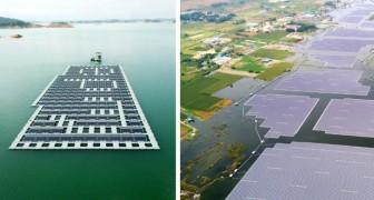 In Cina è stato costruito il più grande impianto fotovoltaico galleggiante del mondo: ecco tutti i suoi vantaggi