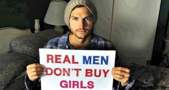 De acteur Ashton Kutcher redde stilzwijgend meer dan 6000 kinderen van clandestien verkeer