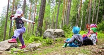 Finnland hat eines der besten Bildungssysteme der Welt, und Kinder gehen erst im Alter von 7 Jahren zur Schule
