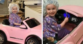 Questo ospedale ha trovato un modo adorabile per distrarre i piccoli pazienti mentre vanno in sala operatoria