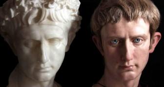 Der Künstler hat die römischen Kaiser mit Skulpturen von beeindruckendem Realismus wieder zum Leben erweckt