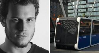 In Italia la sua idea era troppo avanzata: a Dubai, il bus-taxi di Tommaso sarà all'esposizione universale del 2020