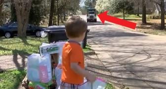 Jeden Dienstag wartet das Kind auf die Müllmänner: Ihre besondere Freundschaft wird euer Herz erwärmen