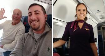 Un papà prenota 6 biglietti aerei per trascorrere le festività insieme alla figlia che fa l'assistente di volo