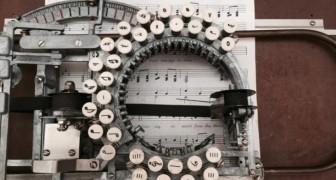 Dit is het verhaal van de zeldzame schrijfmachine die muzieknoten in plaats van letters afdrukte