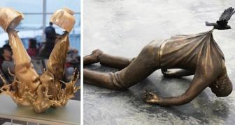 14 sculture che hanno sfidato e vinto la battaglia contro la forza di gravità