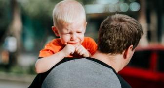 Nenhuma criança pode ser feliz vendo os pais que brigam sempre