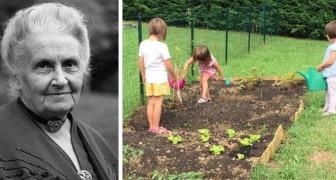 De fundamentele rol van het contact met de aarde, volgens Maria Montessori