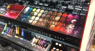 A little girl destroys over $1200 of makeup at Sephora and the salesclerks blame the distracted mother