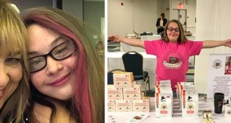 No one hires this girl with Down's syndrome, so she opens her own business!