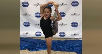 Anderthalb Jahre nach dem Verlust ihres Beines überrascht dieses kleine Mädchen die Ärzte mit dem Gewinn eines Tanzwettbewerbs