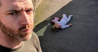 Cosa significa crescere 4 figlie? Le foto senza filtri di questo papà lo rivelano in maniera esilarante
