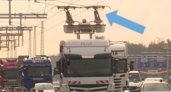 Germania: apre la prima autostrada elettrica che permette ai camion di ricaricarsi in movimento